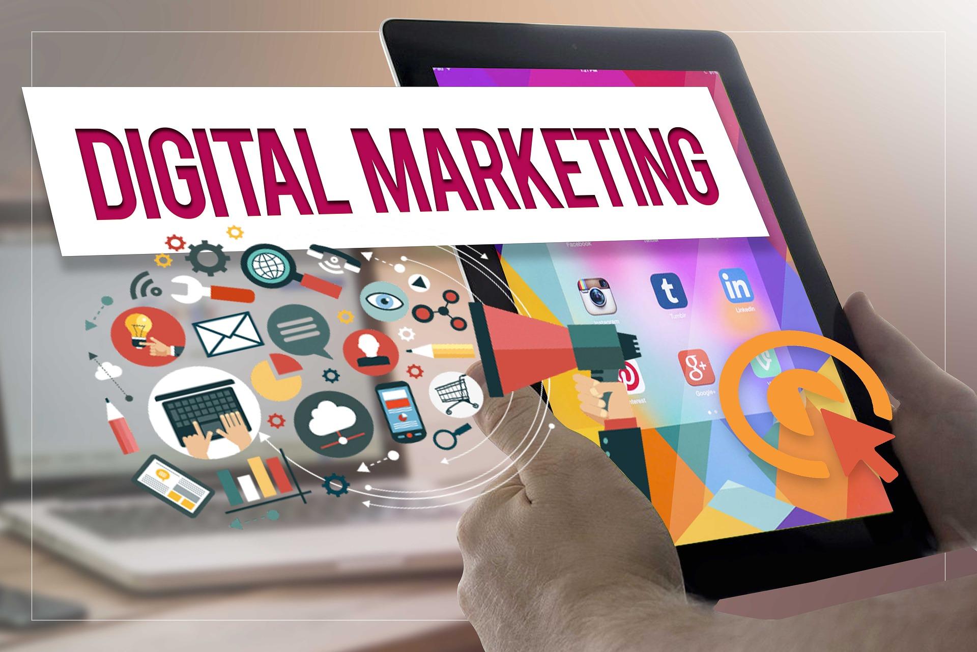 Digitální marketing obsah