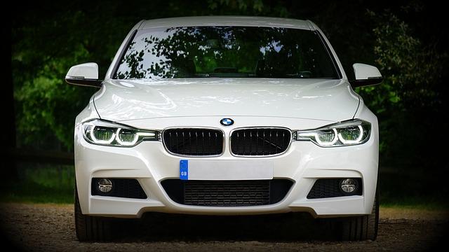 BMW, bílá barva