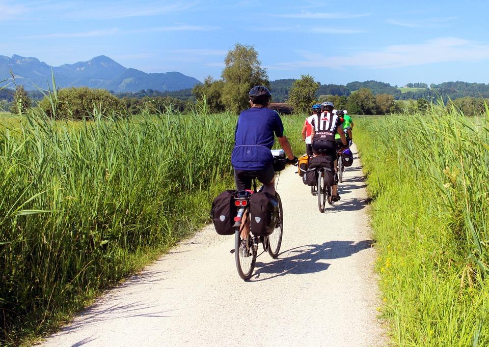 jízda na kolech