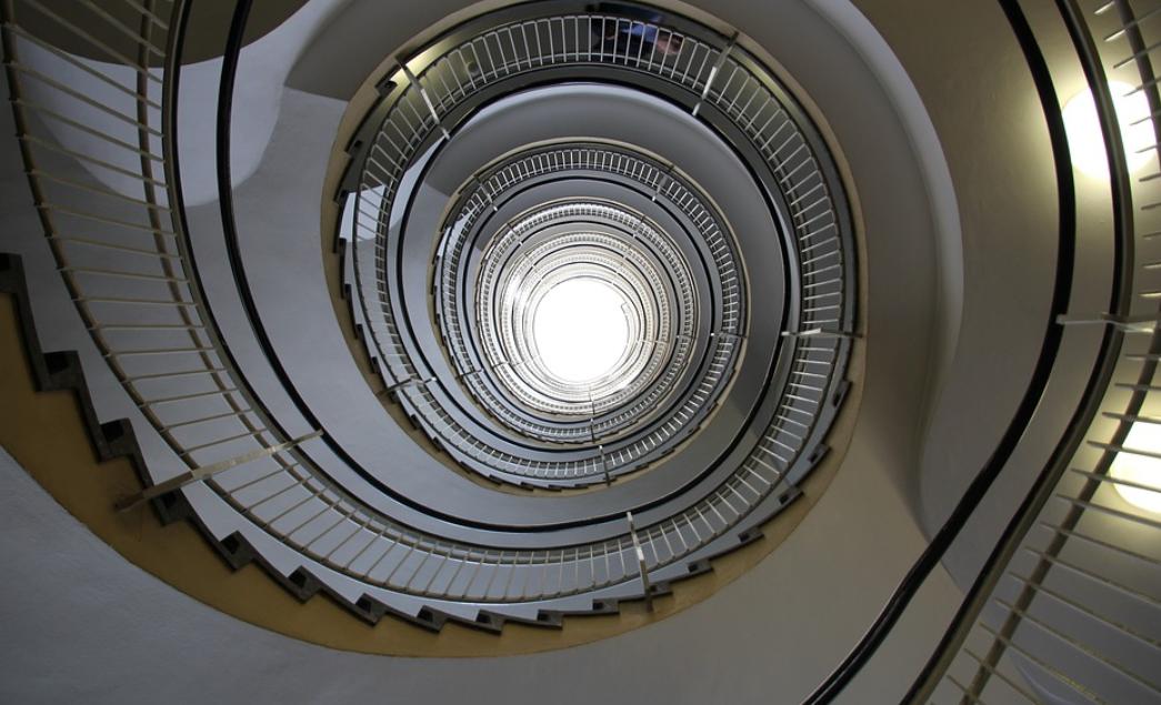 zábradlí a schody